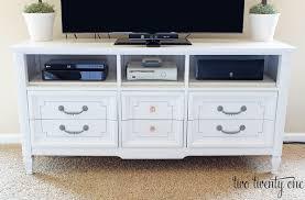 white dresser tv stand. Brilliant White Diytvstand And White Dresser Tv Stand I