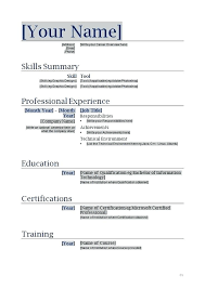 Resume Templates For Mac Stunning 1516 Best Word Resume Template Best Resume Templates For Word Free For