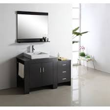 virtu usa ms 7054l tavian 54 single sink bathroom vanity with left side