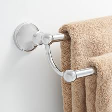 brushed nickel towel stand. Seattle Double Towel BarIncrease Your Bath\u0027s Style And Storage With The Collection Bar. This Handsome Handy Holder Is Made Of Brushed Nickel Stand L