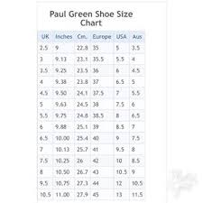 Paul Green Shoe Size Chart Paul Green Munchen Brown Leather Boots Uk7 Us9 5