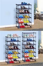 diy 3 tier shoe rack 2018 new diy shoe rack easy assembled iron multiple layers shoes