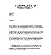 Cover Letter Format Download All About Letter Examples