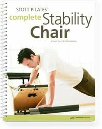 Pilates Wall Chart Stott Pilates Manual Complete Stability Chair
