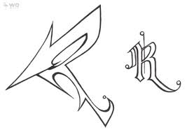 cool letter r graffiti soul cool graffiti arrows r