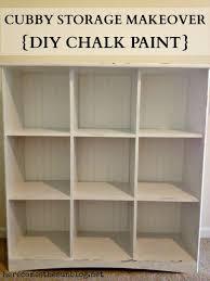 laminate furniture makeover. Chalkt On Laminate Furniture Cubby Storage Makeover Diy Here Comes The Sun Annie Sloan For Chalk