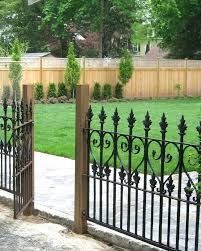 metal fence gate designs. Garden Gate And Fence Ideas Wrought Iron Best Fences On Metal Designs