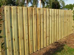 image of board fence styles