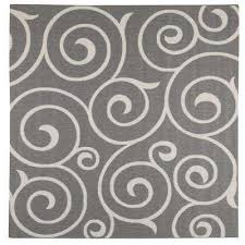 gray home decorators collection square outdoor rugs rugs