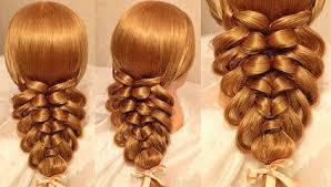 Hairstyle Waterfall easy hairstyle tutorial waterfall braid video dailymotion 8618 by stevesalt.us