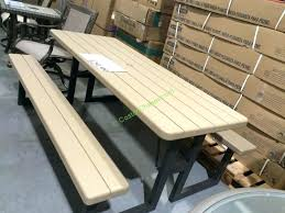 folding tables costco picnic table luxury bench table images lifetime s folding awesome