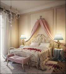Romantic Pink Canopy Bed Curtain. Image Source: My Home Ideas