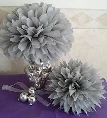 Tissue Balls Party Decorations 100 Tissue Paper Pom Poms Wedding Baby Bridal Shower Rehearsal 68