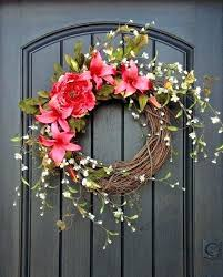 Image Wreaths Front Door Decorations For Spring Incomparable Spring Front Facingpagesco Front Door Decorations For Spring Blue Hydrangea Welcome Sign Summer