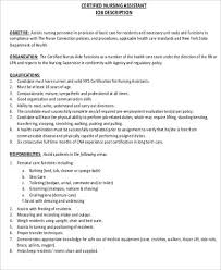 Cna Job Description For Resume Best Of How To Make A Cna Extraordinary Cna Responsibilities For Resume