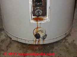 electric hot water heater replacement water heater leak diagnosis repair c daniel friedman