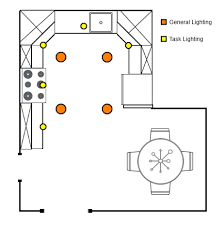 kitchen lighting layout. Kitchen Layout Sample Lighting N