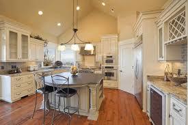 ... Kitchen Great Room Design Vaulted Ceiling Great Room Wooden Wine  Storages Building Home Oak ...