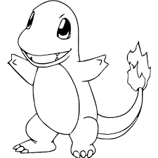 Pokemon Coloring Pages Of Charmander