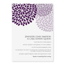 Wedding Invitations Templates Purple Diy Wedding Invitation Templates