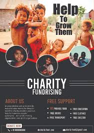 Non Profit Brochure Templates Free Charity Flyer Free Psd Freedownloadpsd Com