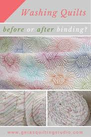 When it is the best time to wash your quilt: before or after binding? &  Adamdwight.com