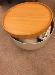 bert mushroom coffee table with storage space from habitat