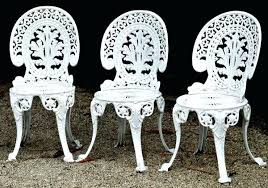 white iron patio furniture. New White Wrought Iron Patio Furniture Or Decor Of Decorating . P