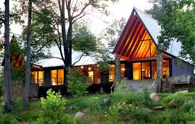 Rustic Cabin Plans Modern Rustic House Plans Delectable Rustic Modern Home Design Plans