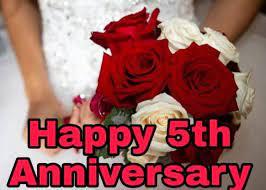 happy 5th anniversary es images