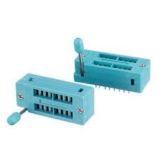 <b>2pcs/lot IC Lock</b> Seat Zif Socket Test Universal zif Sockets 16Pin ...