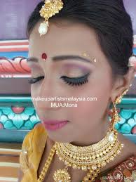 services and brands used mona is a freelance makeup artist msia chameni temple wedding makeover 29 malathi indian