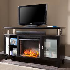 southern enterprises claremont convertible cherry electric fireplace console fireplace