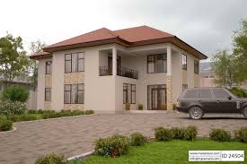 Perfect 4 Bedroom House Plan   ID 24504