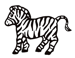 Small Picture Printable Zebra coloring page from FreshColoringcom