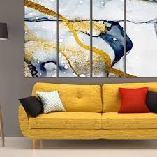 large abstract wall art canvas print