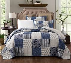 16 best Quilted Coverlet Bedspread Sets - Thin & Lightweight Dorm ... & Enjoy our elegantly designed and classic boho designed bedspread for a  brightened look in any room. This bedspread is accented with multiple  floral paisley ... Adamdwight.com