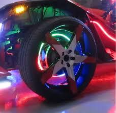 Wheel Lights Polaris Slingshot Chaser Wheel Light Kit