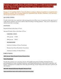 Sample Resume For Registered Nurse Rn New Practitioner Template