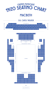The Ahmanson Theater Seating Chart Geffen Playhouse Theater Seating Charts Geffen Playhouse