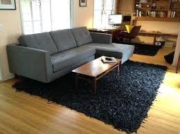 black bedroom rug. Plush Rugs For Bedroom Leather Shag Black Rug