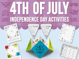 Independence Day Chart Work American Independence Day Tes