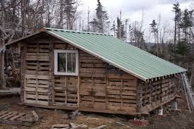 pallet shed. recycled pallet shed wood