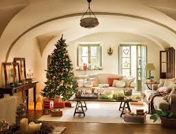 Living Room Christmas Decoration Decorations Great Room Christmas Decoration Idea Come With