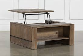 lassen square lift top coffee table
