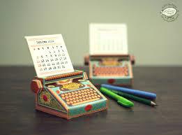 diy calendars ideas 2017 printable paper desk calendar