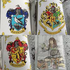 Harry Potter Coloring Book Colouring Coloring