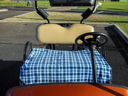 Golf Cart Seat Cover Pattern Interesting Decorating Ideas