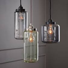 glass jar pendants west elm for the home jar pertaining to the awesome glass jar