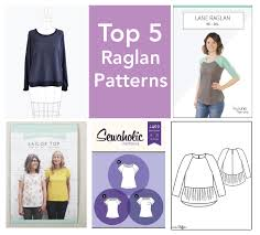 Raglan Sleeve Pattern Delectable Top 48 Raglan Sewing Patterns For Women Sew News